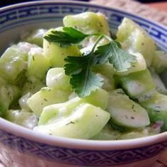Ingredients Serves: 4  FOR THE SALAD 1 medium green cucumber, halved lengthways 1/4 teaspoon salt 2 large spring onions with tops, finely sliced 1/4 cup thinly sliced radishes FOR THE DRESSING 1/2 cup sour cream 2 tablespoons tarragon vinegar or white wine vinegar 1 tablespoon finely chopped fresh dill or 1 teaspoon dried dill 1 teaspoon sugar 1 teaspoon Dijon mustard 1/4 teaspoon black pepper Directions Prep:1hr30min  ›  Ready in:1hr30min  Scoop the seeds out of the cucumber and discard…