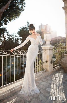 berta bridal 2015 summer collection- This gown will be at our August 15-17 #trunkshow @BBLewisville! Book your apt today!