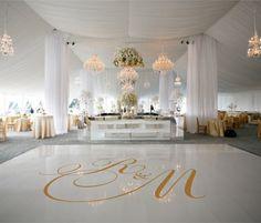 Dance Floor Decal Wedding Decor Wedding Decoration от SignJunkies