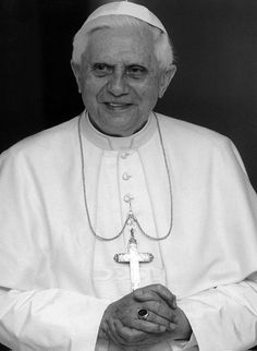 Pope Benedict XVI -- a gentle man of incredible intellect, reason, and faith.  I miss him.