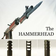 The Hammerhead brake is a hot item these days. 7 reasons why we think it should be on your list: 1. Tight tolerances on the bore hole help the brake to divert more gas. 2. The side ports are canted rearward pushing the gas backwards. This counters more recoil than if they were at 90 degree angles. 3. Our design features a concave face which diverts the gases sideways at the face of the brake rather than the gases going downward. 4. Our vertical ports are the largest size possible without…