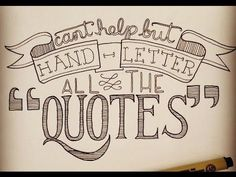 Hand Lettering for Beginners: Easy Accents - YouTube