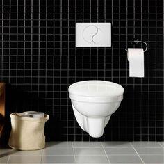 Vägghängd Toalettstol Hafa Wall Komplett - Vägghängda
