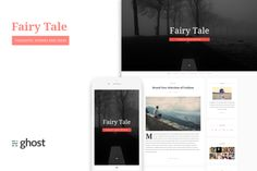 Fairytale - Blogging Theme for Ghost by BD InfoSys on Creative Market