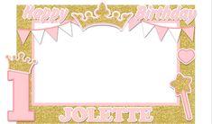 Happy Birthday Parties, Birthday Diy, Birthday Ideas, Birthday Photo Booths, Diy Photo, Party Photos, Birthdays, Crown, Princess