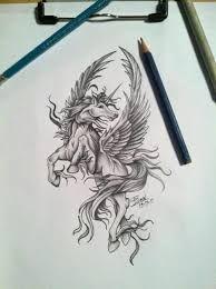 Resultado de imagem para pegasus tattoo