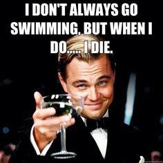 Poor Leo... so sad, but really so funny! Titanic, Great Gatsby...