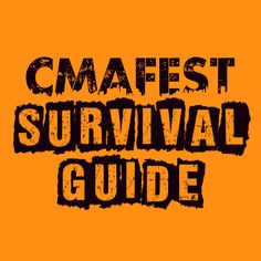 Make sure to check out our CMA Fest Survival Guide if you are heading to the 2014 #CMA Fest.  This will make your trip a breeze