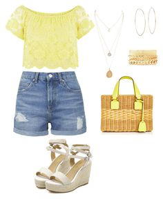 """""""Untitled #24"""" by ghenwahaddad ❤ liked on Polyvore featuring Topshop, Mark Cross, Michael Kors and Charlotte Russe"""