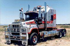 Trucking Old Mack Trucks, Big Rig Trucks, Train Truck, Road Train, Heavy Duty Trucks, Heavy Truck, Custom Big Rigs, Custom Trucks, Truck Transport