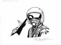 Buck Danny Comic Art
