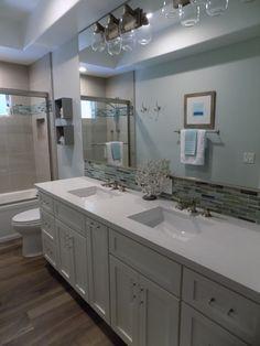 Caesarstone Fresh Concrete Vanity Top From Pacific Shore Stones Arroyo Grande Bath Design By