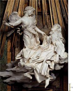 Ecstasy of Saint Teresa, Cornaro Chapel, Rome Italy, 1645-1652