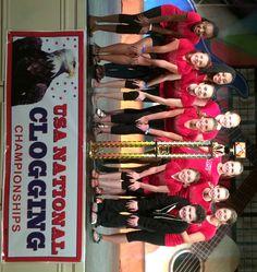 NCHC USA 2014 Clogging National Champions Jr Masters.  Bristol Dance Academy's Ultimate Dance. Bristol TN