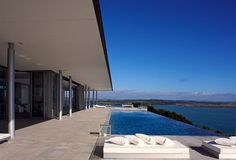 Eagles Nest hotel Overview - Waihihi Bay - Bay of Islands - North Island - New Zealand - Smith hotels