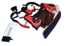 Parrot BeBop Drone Quadcopter with Skycontroller - Red