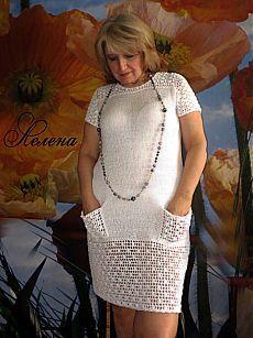 Маленькое БЕЛОЕ платье...