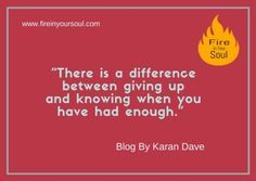"GIVING UP  Blog By Karan Dave  http://fireinyoursoul.com/2017/09/03/giving-up/  www.fireinyoursoul.com ""Show the world what you possess. ""  Seek your daily dose of Motivation & Inspiration.  Subscribe @fireinyoursoul5, #fireinyoursoul , #motivationalquotes #motivational #inspirationalquotes #inspiration #passion #ourthoughts #workhard #leavingthepast #patience #attention #procrastination #immaturity #overthinking #ignore #fightingcriticism #insecureaboutyourself #breakthebarriers…"