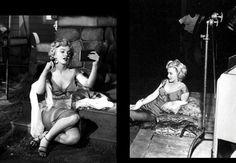 """1952-53 """"Niagara"""" d'Henry HATHAWAY / Commentaire (part 4) Marilyn chante la chanson """"Kiss"""" (video) / Néanmoins, il apparaîtra évident que la véritable héroïne (au premier degré) du film restera le personnage interprété par Jean PETERS, ménagère exemplaire et obéissante, jolie mais non sensuelle. Il faudra donc encore attendre quelques années pour que Hollywood ne réserve pas les rôles de femmes intelligentes et libérées à des personnages féminins ouvertement intrigants, fourbes et…"""