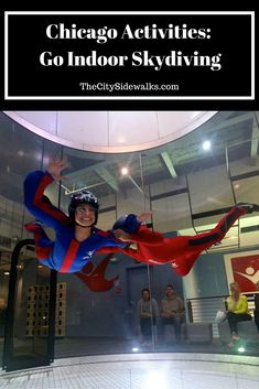 Things To Do In Chicago: Go Indoor Skydiving at iFLY!