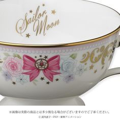 Make Teatime Magical with This Sailor Moon Tea Cup and Saucer Set