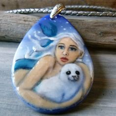 Amazing Beautiful Mermaid seal pup in the snow   by ArtoftheMoment