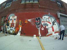 Awesome street art by Brooklyn-based Australian The Yok