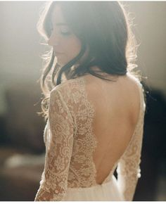 Beautiful backs on this seasons wedding dresses