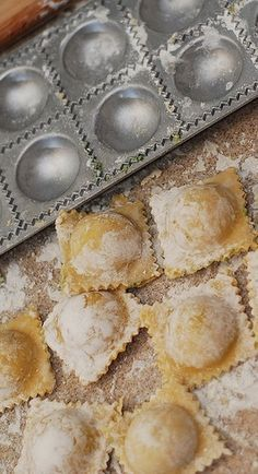 How to make ravioli from scratch - step-by-step photos and instructions!  #Italian_food #Italian_recipes #pasta_recipes