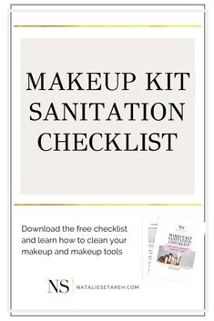 Do you want to know how to clean your makeup? Maybe you are someone who loves makeup, or even a makeup artist. You have all those beauty products, but you've been wondering how you can clean and sanitize your brushes, sponges and even your makeup palettes. Well, I'll help you. Click here to learn how to clean your makeup and download a free checklist! #makeup #MakeupTips Full Makeup, Love Makeup, Makeup Kit, Simple Makeup, Makeup Tools, Makeup Hacks, How To Wear Makeup, Learn Makeup, How To Apply Makeup