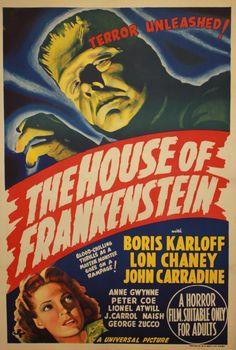 The House of Frankenstein (1944) via Australia