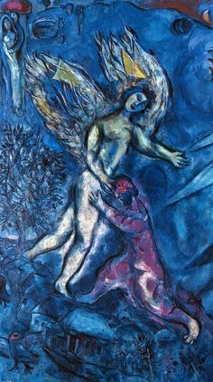 "Marc Chagall. What the conservatives called ""The darker side of Chagall..."""
