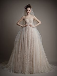 Ersa Atelier Wedding Dresses 2015. To see more: http://www.pinterest.com/modwedding/wedding-dresses/