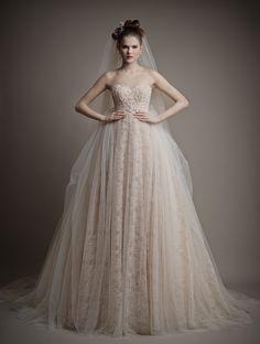 Ersa Atelier Wedding Dresses 2015. To see more: http://www.pinterest.com/modwedding/wedding-dresses/