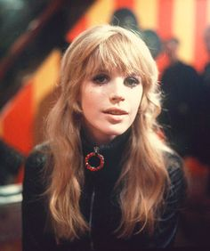 "Marianne Faithfull filming ""The Girl on a Motorcycle"", 1967."