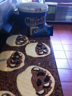 ...while making our CHOCONINO!!! Μια ζεστή..σοκόλαση από την αγαπημένη μας Merenda και τα μοναδικά μπισκότα Oreo, σας περιμένει στα Fornino!!