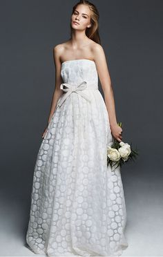 cf4676cb2ed59 Collezione Max Mara Bridal Max Mara Bridal, 2018 Wedding Trends, Strapless  Dress Formal,