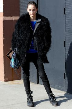 29 Winter Wardrobe Ideas From New York Fashion Week's Street Style Stars | Teen Vogue