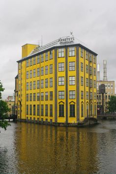 Norrköping, Sweden - Museum der Arbeit (Museum of Work), architect Folke Bensow
