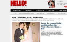 La rivista inglese si è aggiudicata per 300mila euro l'esclusiva delle immagini delle nozze celebrate in Puglia a metà ottobre. Lei in abito rosa, lui in smoking. GUARDA IL VIDEO