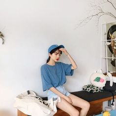 Korean Fashion Style #DailyLook #Ulzzang