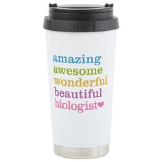 Cafepress coffee then histology stainless steel travel mug stainless steel travel mug urtaz Image collections