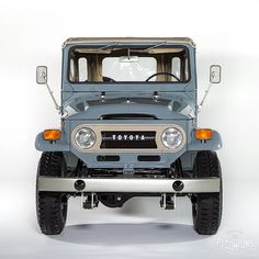 Our finished 1971 Toyota LandCruiser FJ43 Grey.  The Detail photos are now…