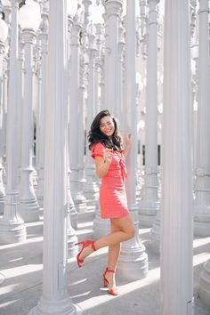 Travel Guide: Two Days in LA - with love caila Spring Sandals, Spring Shoes, Caila Quinn, Malibu Wine Safari, Malibu Wines, Light Art Installation, Big Friends, String Lights Outdoor, Dark Jeans