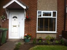 Front garden all done!!