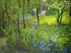 A London Garden by Thomas Rooke