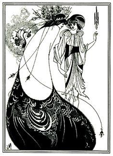 Gratis kleurplaat kleuren-adult-illustratie-art-nouveau.  Een authentiek Art Nouveau illustratie