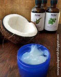 Paula Parrish: DIY Coconut Vapor Rub