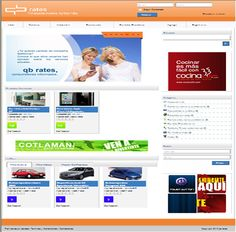 Diseño de tienda virtual de Qbrates