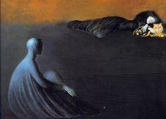 Léonor Fini - La gardienne - 1989
